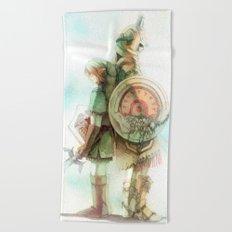Zelda: Lineage Beach Towel