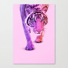 COLOR TIGER Canvas Print