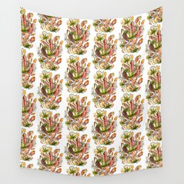 Ernst Haeckel Nepenthaceae Pitcher Plant Wall Tapestry