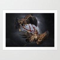 Ravenous Art Print