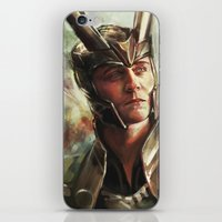 prince iPhone & iPod Skins featuring The Prince of Asgard by Alice X. Zhang