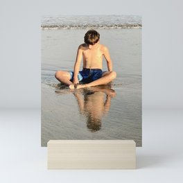 Boyhood Reflections Mini Art Print