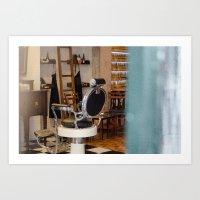 bar Art Prints featuring bar by Sébastien BOUVIER