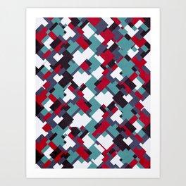 Poligonal 84 Art Print