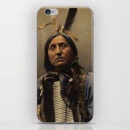 Left Hand Bear, Oglala Sioux chief iPhone Skin