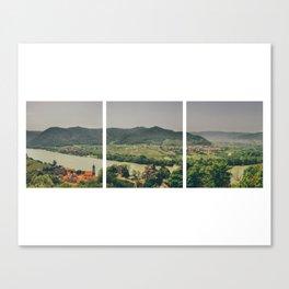 Dürnstein Tryptic Canvas Print
