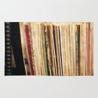 vinyl Area & Throw Rugs featuring Vinyl by strentse
