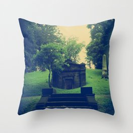Her Secrets Were Buried With Her Throw Pillow