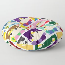 In the Name of the Moon... Floor Pillow