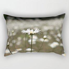 Wildflowers in an Oregon Field Rectangular Pillow