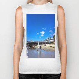 San Diego Beach Boardwalk/Crystal Pier Biker Tank