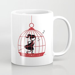 The Caged Bird Sings Coffee Mug