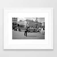 spain Framed Art Prints featuring Spain by Brooke Armstrong