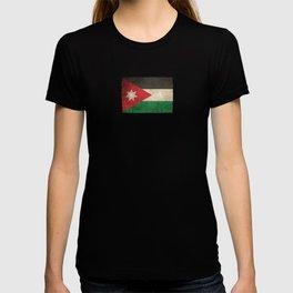 Old and Worn Distressed Vintage Flag of Jordan T-shirt