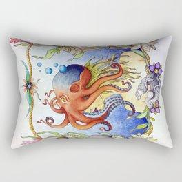 Octopus Wench Rectangular Pillow