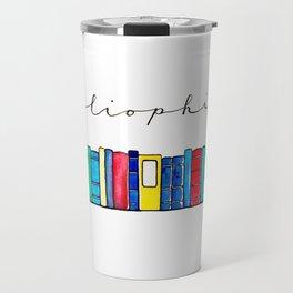 Bibliophile Travel Mug