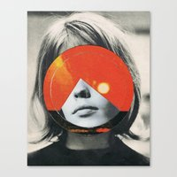 girls Canvas Prints featuring girls by Hugo Barros