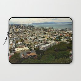 San Francisco from the Coit Tower Laptop Sleeve