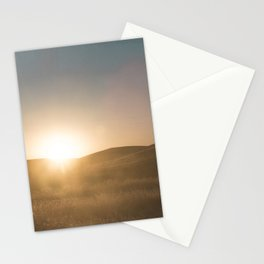 California Summer Sunset Stationery Cards