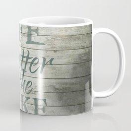Lake Life Coffee Mug