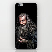 gondor iPhone & iPod Skins featuring Gandalf  by DavinciArt