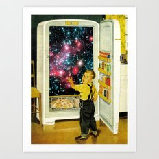 No More Galaxies for Today, Timmy! Art Print