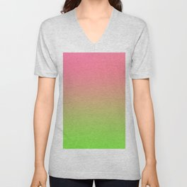 NEW ENERGY - Minimal Plain Soft Mood Color Blend Prints Unisex V-Neck