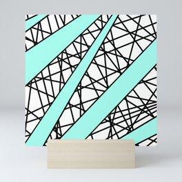 Lazer Dance T Mini Art Print