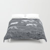 cows Duvet Covers featuring Cows by Mr & Mrs Quirynen