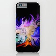 Woman and Horse - Fantasy Rainbow Art iPhone 6s Slim Case