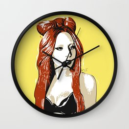 UNCONVENTIONAL BEAUTY Wall Clock