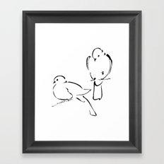 Ink Birds 02 Framed Art Print
