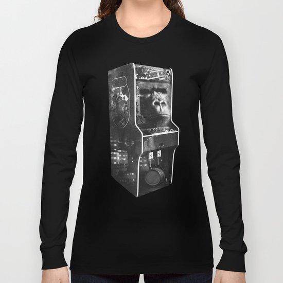 DONKEY KONG ARCADE MACHINE Long Sleeve T-shirt