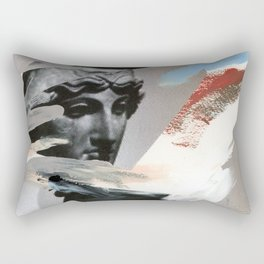Untitled (Painted Composition 4) Rectangular Pillow