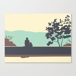 Park Folimanka Canvas Print