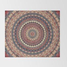 Mandala 595 Throw Blanket