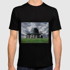 Stonehenge 05 MEDIUM Black Mens Fitted Tee