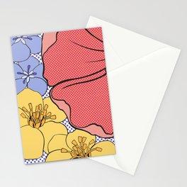 Floral Pop Stationery Cards