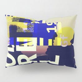GLITCH CITY #18: Montréal Pillow Sham
