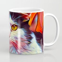 The TUXEDOfrom our FUNK YOUR FELINE line Coffee Mug