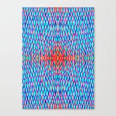 Flowing colors Canvas Print