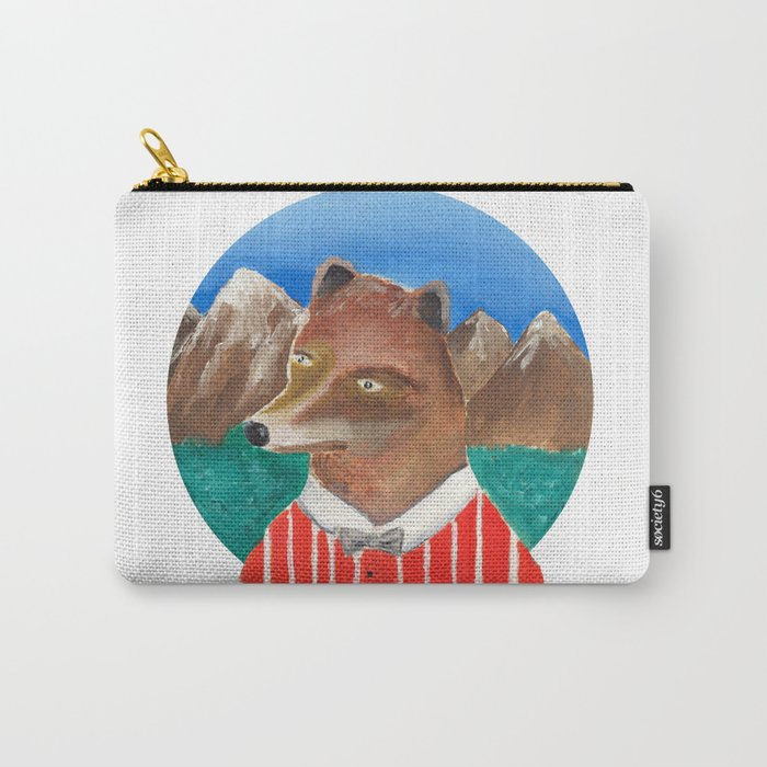 Fox of Lion Carry-All Pouch