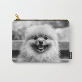 Portrait time with Captain Henry Gingersnaps Carry-All Pouch