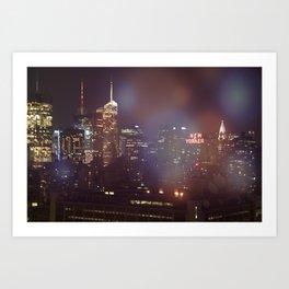 Enchanted City Art Print