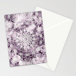 MANDALA WONDERLAND IN PINK Stationery Cards