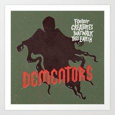 Dementors Art Print