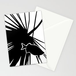 Fish Fossil Stationery Cards