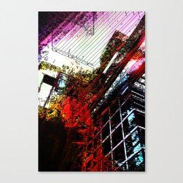 Retaliatory Red Canvas Print