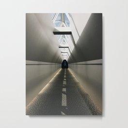 Watch for Traffic Metal Print