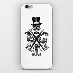SEÑOR CALAVERA iPhone & iPod Skin